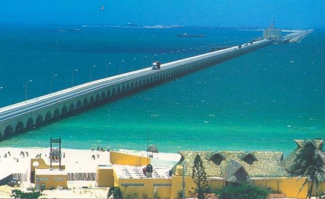 Cầu cảng Progreso nằm tại thành phố cảng Progreso, Mexico.
