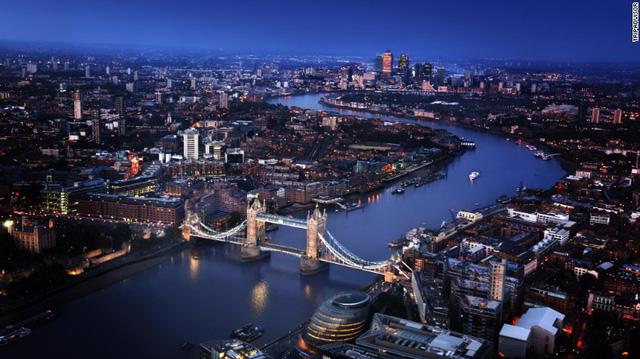 Thủ đô nước Anh là điểm đến được yêu thích nhất năm 2016 (Ảnh: CNN)