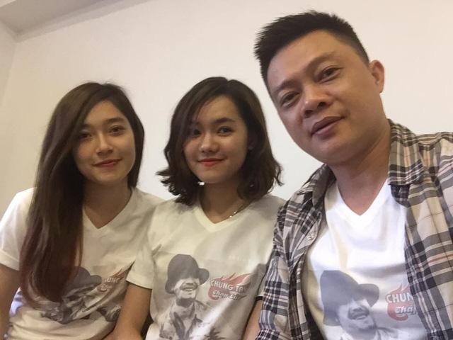 BTV Quang Minh và hai thành viên trong ê-kíp sản xuất Bữa trưa vui vẻ