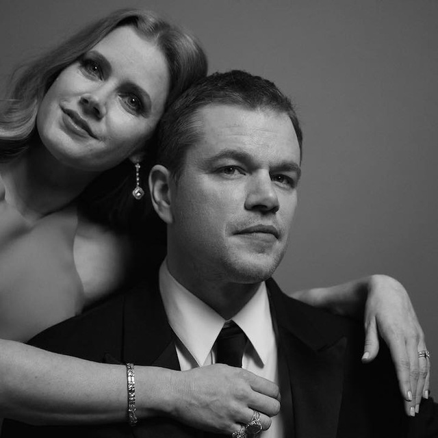 Amy Adams và Matt Damon
