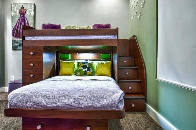 Không gian sang trọng cho phòng ngủ.