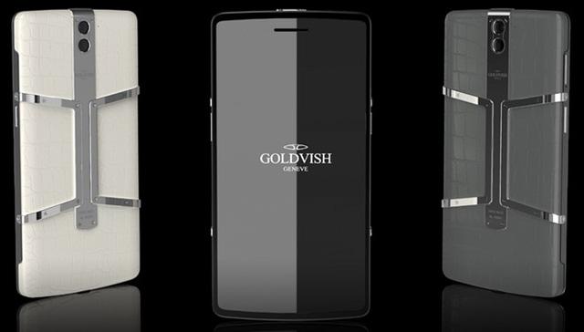 Goldvish Eclipse được chế tác từ da cá sấu và kim cương đen (Ảnh: Business Insider)