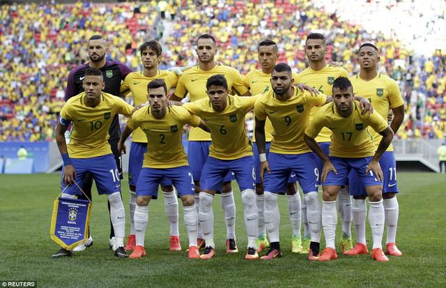 U23 Brazil với tham vọng giành tấm HCV đầu tiên tại một kỳ thế vận hội