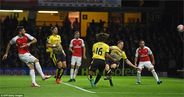 Arsenal đã thắng Watford 4/5 cuộc đối đầu gần đây tại mặt trận cúp FA