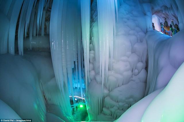 Vào mùa hè, ngay cả khi nhiệt độ ngoài trời lên tới 17 độ C, băng giá trong hang vẫn không tan nhờ cấu trúc và hình dáng bowling-pin của nó kết hợp với dòng chảy theo mùa của không khí và khả năng cách nhiệt của các bức tường đá, mang đến điều kiện lý tưởng để giữ cho băng đông lạnh.