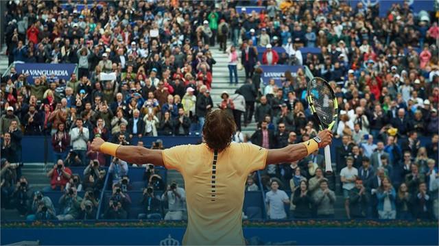 Nadal sẽ hướng tới chức vô địch thứ 9 tại Barcelona mở rông. (Ảnh: ATP)
