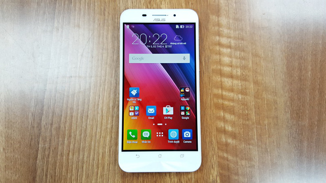 Giao diện được cài đặt sẵn trên ZenFone Max