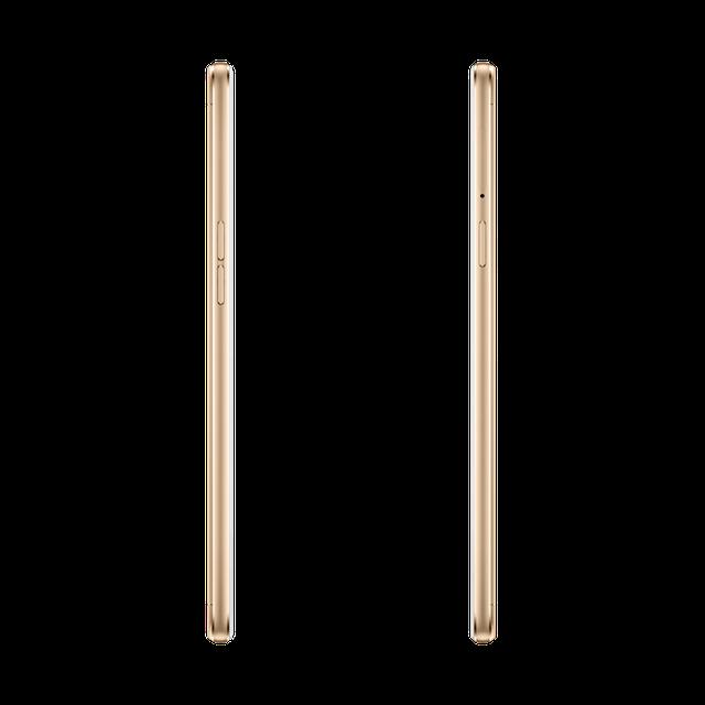 Oppo A59 có độ mỏng và cân nặng ấn tượng với kích thước 154,5 x 76 x 7,38 mm, trọng lượng 160 g