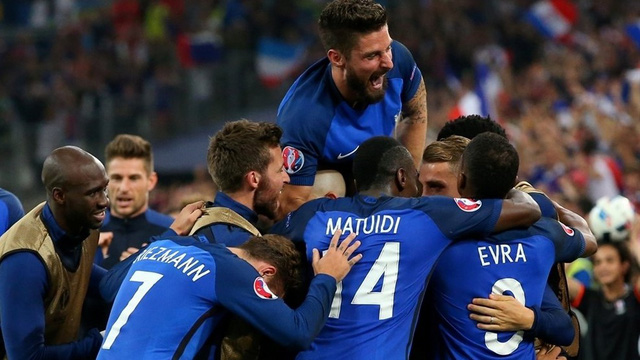 ĐT Pháp đang rất tự tin trên hành trình chinh phục EURO 2016. Ảnh: UEFA
