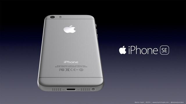 Ảnh dựng iPhone SE (Ảnh: martinhajek.com)