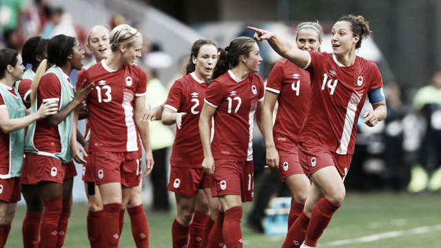 ĐT nữ Canada đã có chiến thắng ấn tượng 2-1 trước ĐT nữ Đức. Ảnh: Vavel