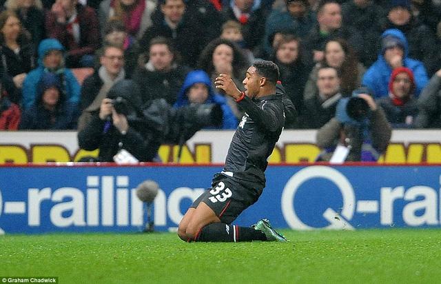 Jordon Ibe lập công cho Liverpool