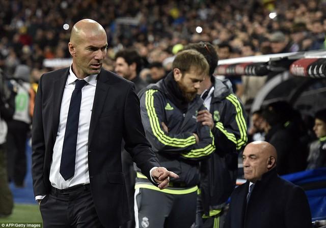 Zidane đã có khởi đầu rất hứa hẹn trọng vai trò HLV Real Madrid