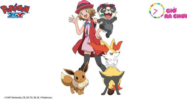 Serena với tạo hình mới trong Pokémon XY series 18