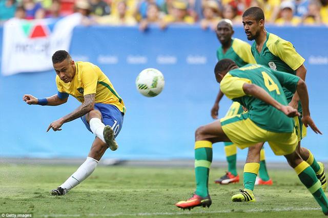 Bỏ lỡ hàng tá cơ hội, Neymar cùng các đồng độ chấp nhận chia điểm trong trận đấu ra quân Olympic 2016