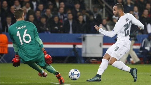 Real Madrid chỉ có được trận hoà 0-0 trước PSG khi làm khách tại Paris, Pháp ở lượt trận thứ 3