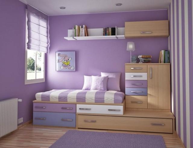 Một giải pháp tuyệt vời cho phòng ngủ nhỏ của con