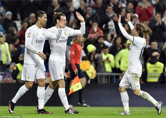 Real Madrid đã có chiến thắng ấn tượng ngay trong trận đầu Zidane dẫn dắt