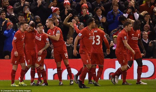 Liverpool chưa có được sự ổn định về chiến thuật vì cơn khủng hoảng chấn thương