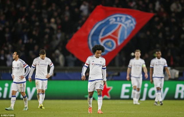 Chelsea luôn gặp khó trong các chuyến làm khách tại Paris
