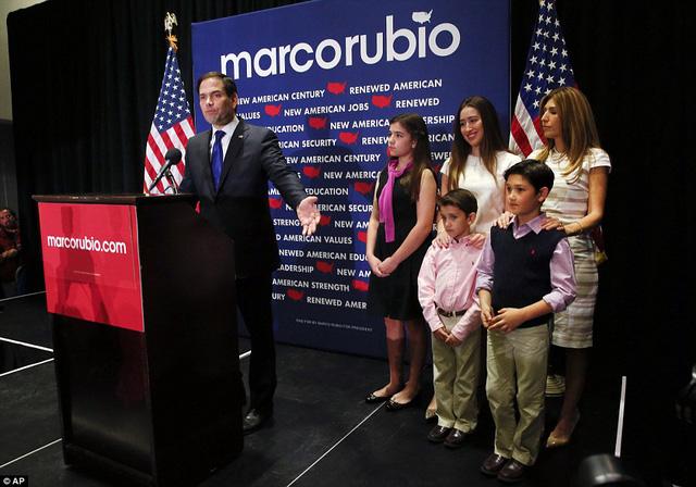 Thất bại trên sân nhà Florida, ứng viên Marco Rubio chấm nhận rút lui trong cuộc chạy đua vào Nhà Trắng (Ảnh: AP)