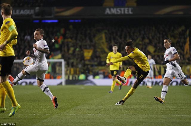 Borussia Dortmund hủy diệt Tottenham Hotspur sau 2 lượt đấu với tổng tỷ số 5-1