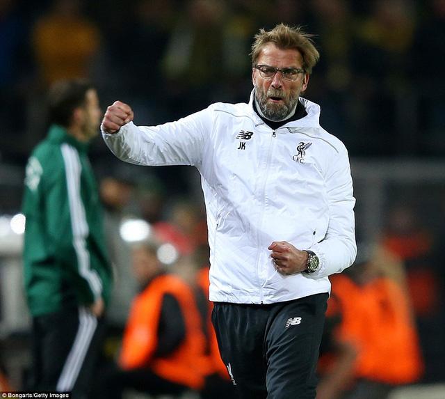 Jurgen Klopp chưa có được niềm vui trọn vẹn trong lần đầu tiên trở về Dortmund.