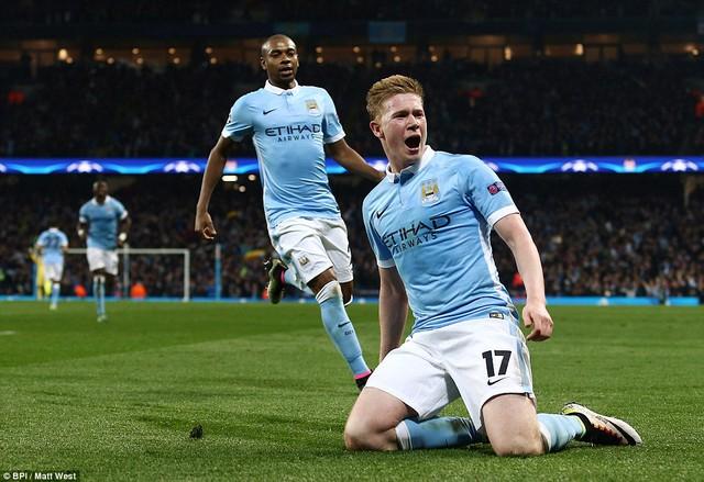 De Bruyne xuất sắc góp công lớn đưa Man City lần đầu góp mặt ở Champions League.