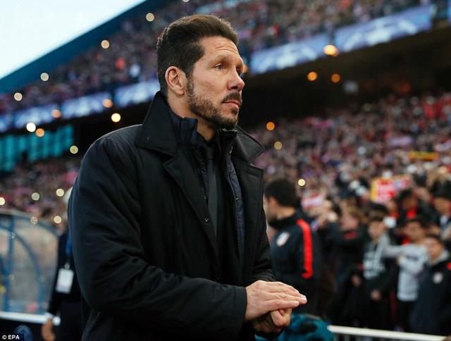 HLV Simeone - người làm nên thành công của Atletico Madrid trong những năm qua (Ảnh: EPA)