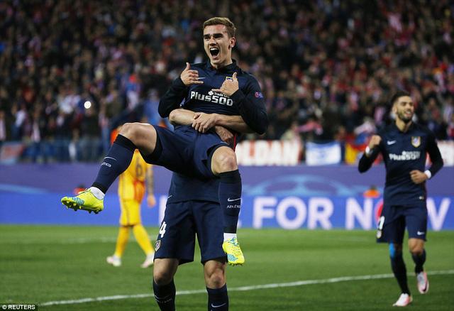 Hàng công Atletico Madrid đang sở hữu sự ổn định ở giai đoạn cuối mùa (Ảnh: Reuters)
