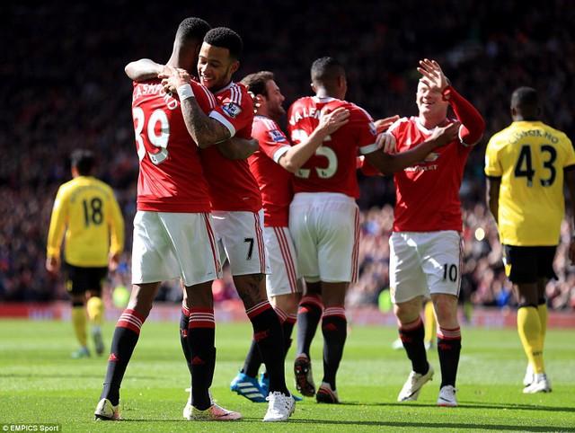 Với phong độ tốt thời gian qua, Man Utd tỏ ra lấn lướt hoàn toàn so với Aston Villa.