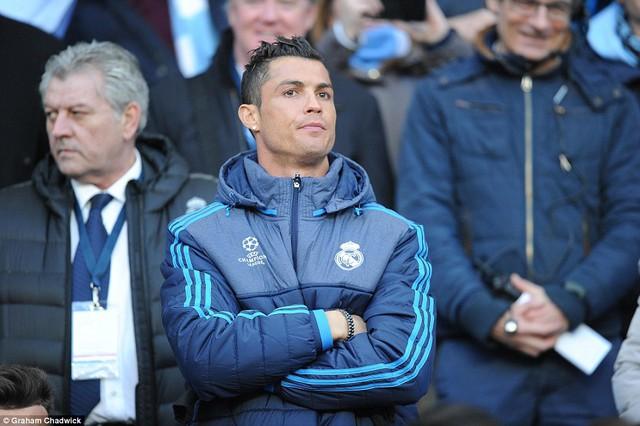 Sự thiếu vắng Ronaldo là tổn thất nặng nề với Real Madrid (Ảnh: Daily Mail)