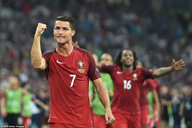 Cirs Ronaldo cùng các đồng đội chưa có một chiến thắng nào sau 90 phút thi đấu chính thức tại EURO 2016