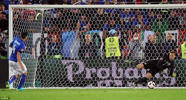 Sự xuất sắc của Neuer góp công lớn vào thắng lợi của ĐT Đức