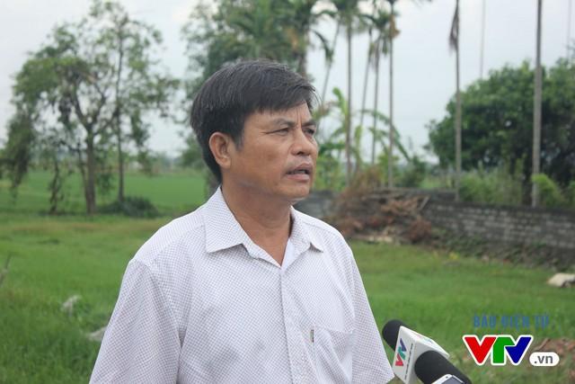 Ông Đào Văn Yên, Chủ tịch Ủy ban nhân dân xã Liêm Túc, tỉnh Hà Nam