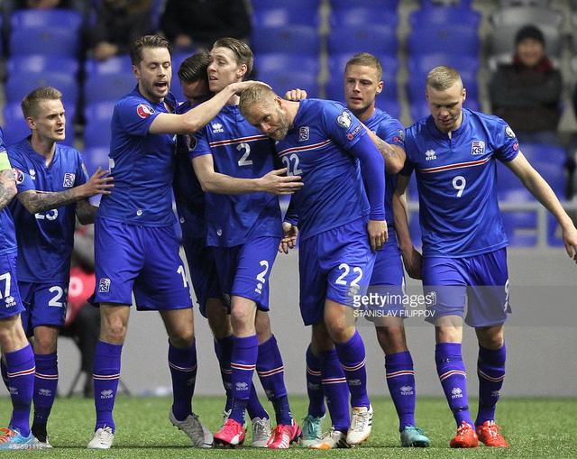 ĐT Iceland đang viết một câu chuyện cổ tích tại EURO 2016. Ảnh: Getty