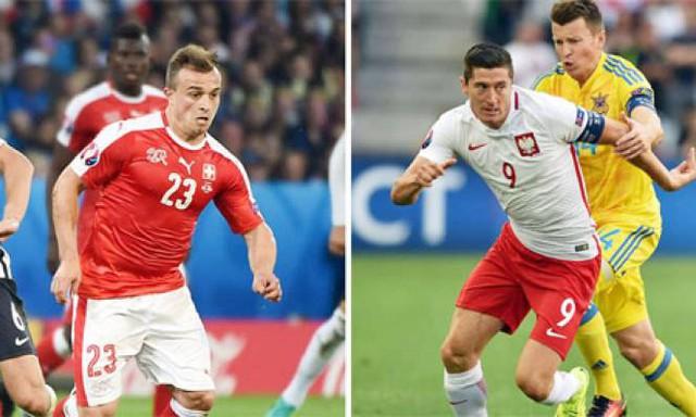Shaqiri và Lewandowski - Niềm hi vọng của hai ĐT Thụy Sỹ và Ba Lan