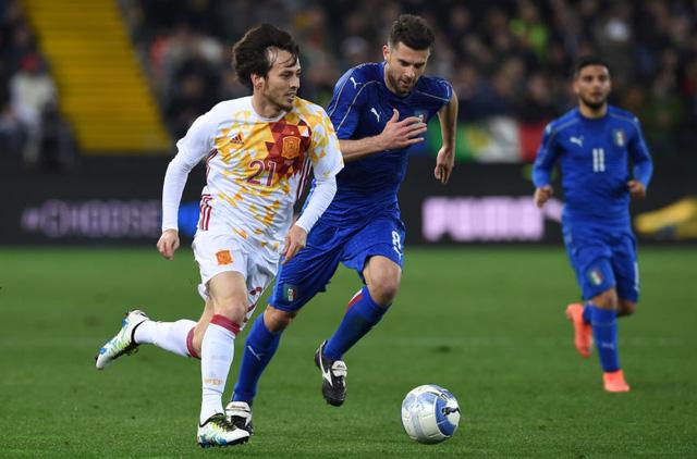 Italy - Tây Ban Nha được xem như trận chung kết sớm của EURO 2016. Ảnh: Getty