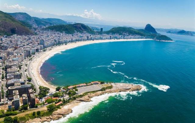 Khu vực pháo đài Copacabana - một căn cứ quân sự ở Copacabana, Rio de Janeiro