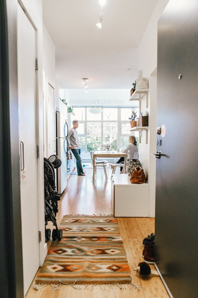 Căn hộ này ở Vancouver thoạt nhìn trông cũng giống như bao căn hộ bình thường khác.