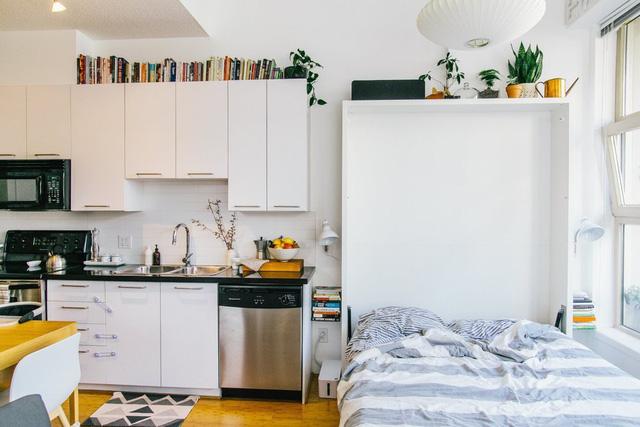 Đây cũng là biện pháp thông minh nhằm tối ưu hóa diện tích các căn hộ nhỏ.