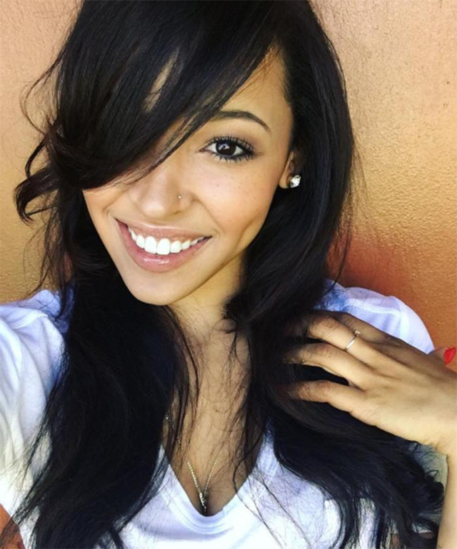 Tinashe - người được cho là cô gái mới của DJ Calvin Harris. (Ảnh: Instagram)