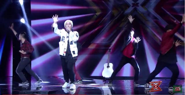 Vũ Nhật Tuấn, thí sinh đã đốt nóng vòng Hội ngộ với ca khúc Bang Bang Bang. Đến với vòng Tranh đấu, anh tiếp tục mang đến ca khúc Tonight của Big Bang.