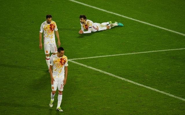 Với ngôi nhì bảng D, Tây Ban Nha chắc chắn sẽ gặp Italy ở vòng 16 đội EURO 2016. Ảnh: UEFA