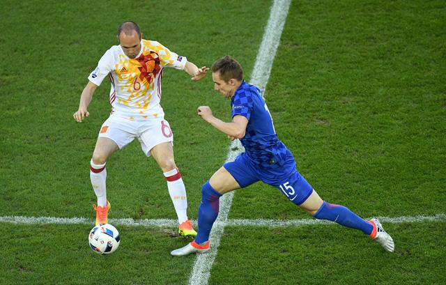 ĐT Croatia vừa xuất sắc đứng đầu bảng đấu có ĐT Tây Ban Nha