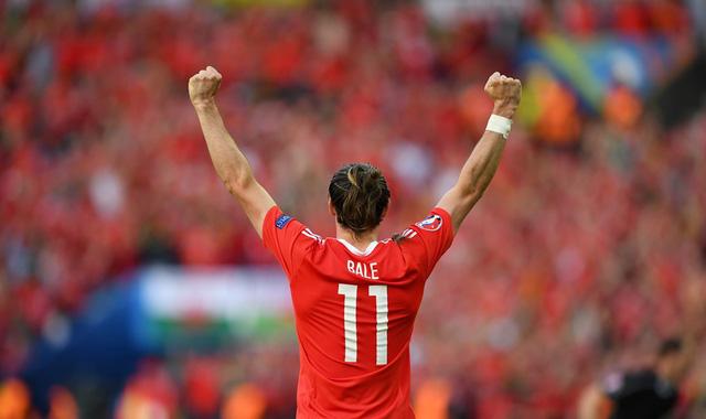 Gareth Bale từng ghi bàn thắng duy nhất giúp Wales chiến thắng trước Bỉ ở vòng loại EURO 2016. Ảnh: UEFA