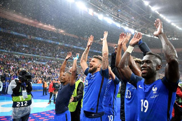 ĐT Pháp đang nắm nhiều lợi thế hơn trước người Đức ở trận bán kết EURO 2016.