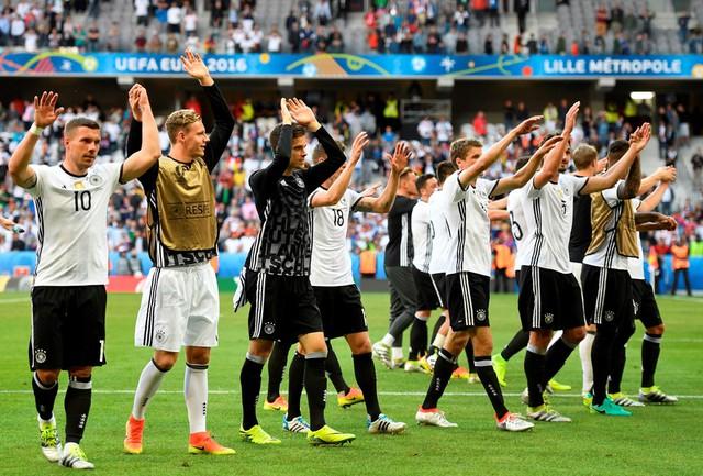 ĐT Đức đã trở lại vị thế vốn có của nhà ĐKVĐ thế giới. Ảnh: UEFA