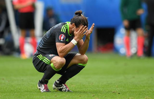 Gareth Bale đã ghi bàn cho Xứ Wales nhưng anh và các đồng đội vẫn phải nhận thất bại. Ảnh: UEFA