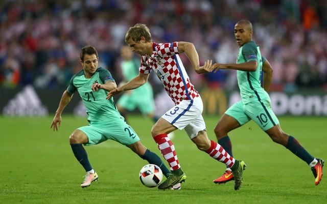 Trận đấu giữa BĐN và Croatia diễn ra vô cùng căng thẳng khi cả 2 đội sử dụng lối chơi chặt chẽ, không cho đối thủ nhiều cơ hội tấn công.